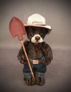 "Little Smokey Bear 9"""