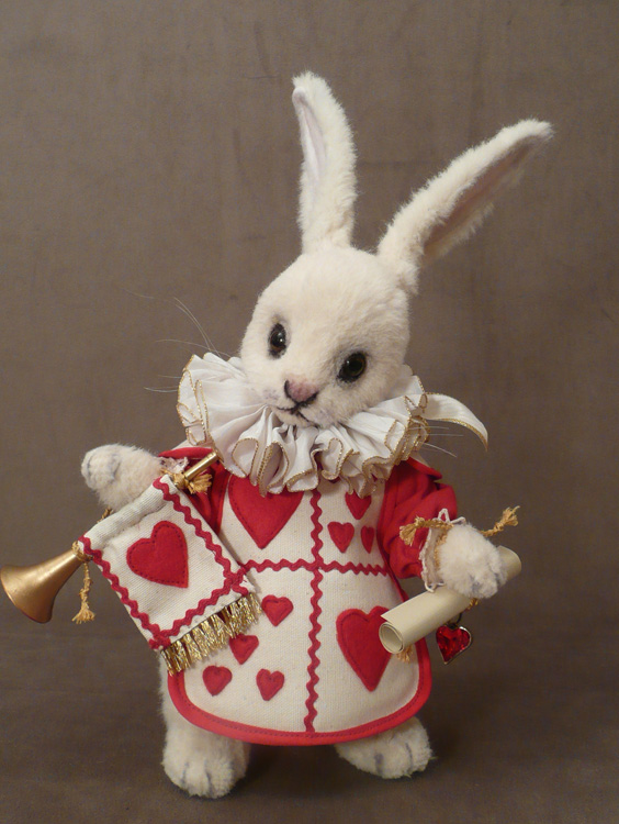 The White Rabbit in Hearts
