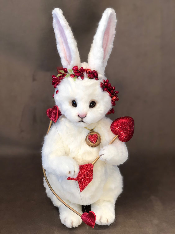 Cupid the Bunny Rabbit