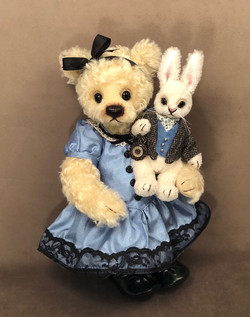 Alice and Her Little White Rabbit