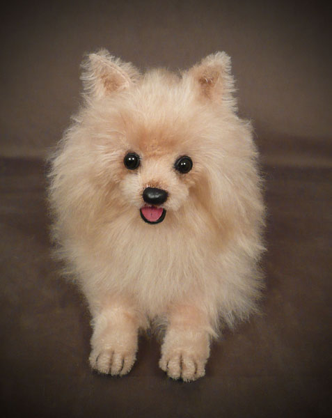 Dior Pomeranian Movie Dog