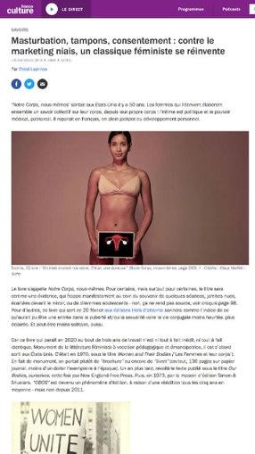 France Culture -  Notre corps nous mêmes