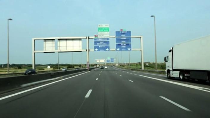 Image of the Road E40 - Single Screen Version