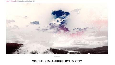 VISIBLE BITS, AUDIBLE BYTES 2019