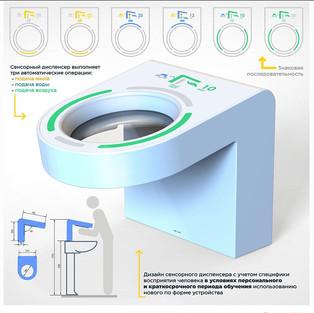 Дизайн сенсорного диспенсера на основе семиотического подхода