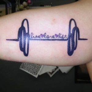 Gym, Workouts, Sport and New Tattoos