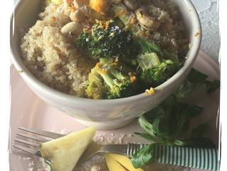 Gemüsecurry mit Quinoa, glutenfrei