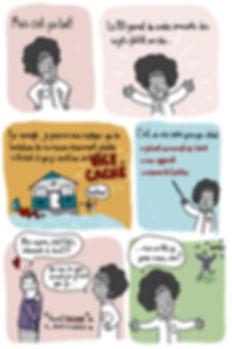 Bande dessinée comme outil de communication pour rendre certains sujets moins lourds