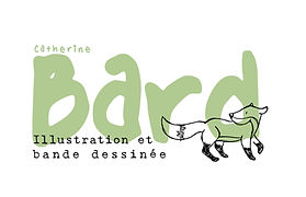 Logo de l'enteprise « Catherin Bard - Illustration et bande dessinée »