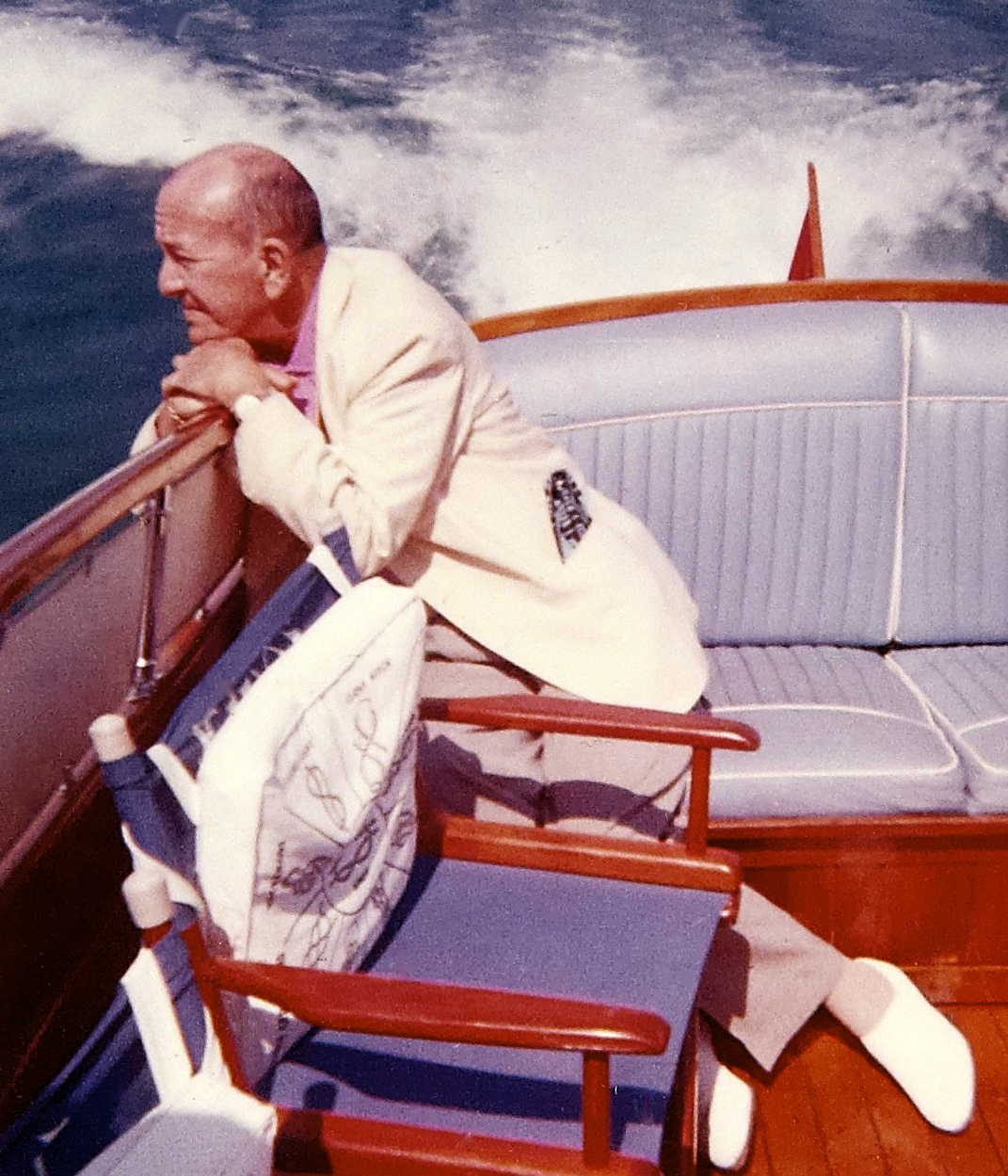 Noël Coward in the Seychelles,1965