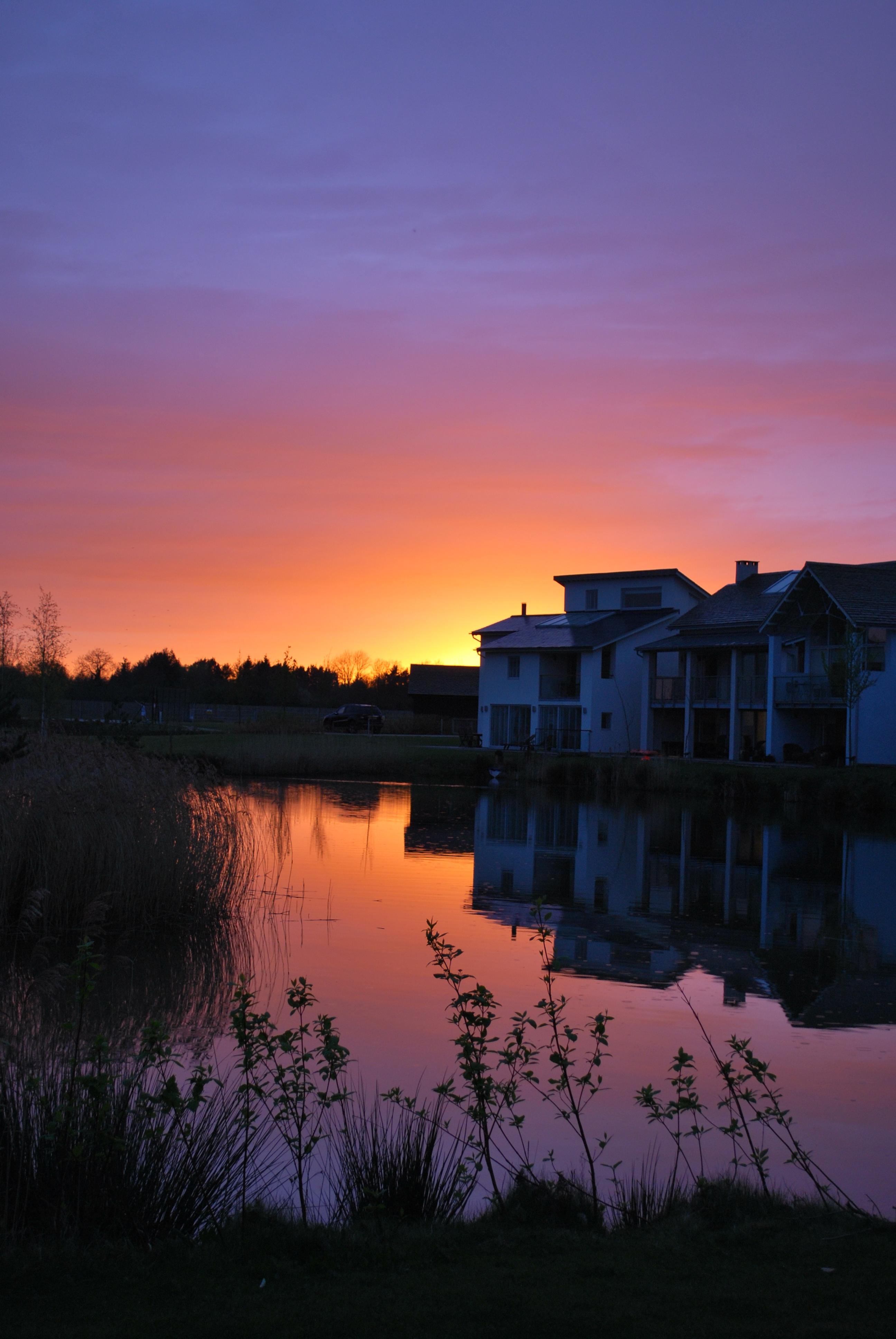 Hoopoe Cottage sunset