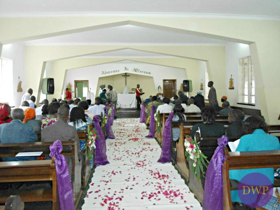 Church ceremony.