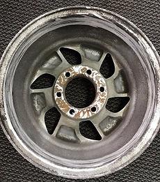 Lug hole repair before