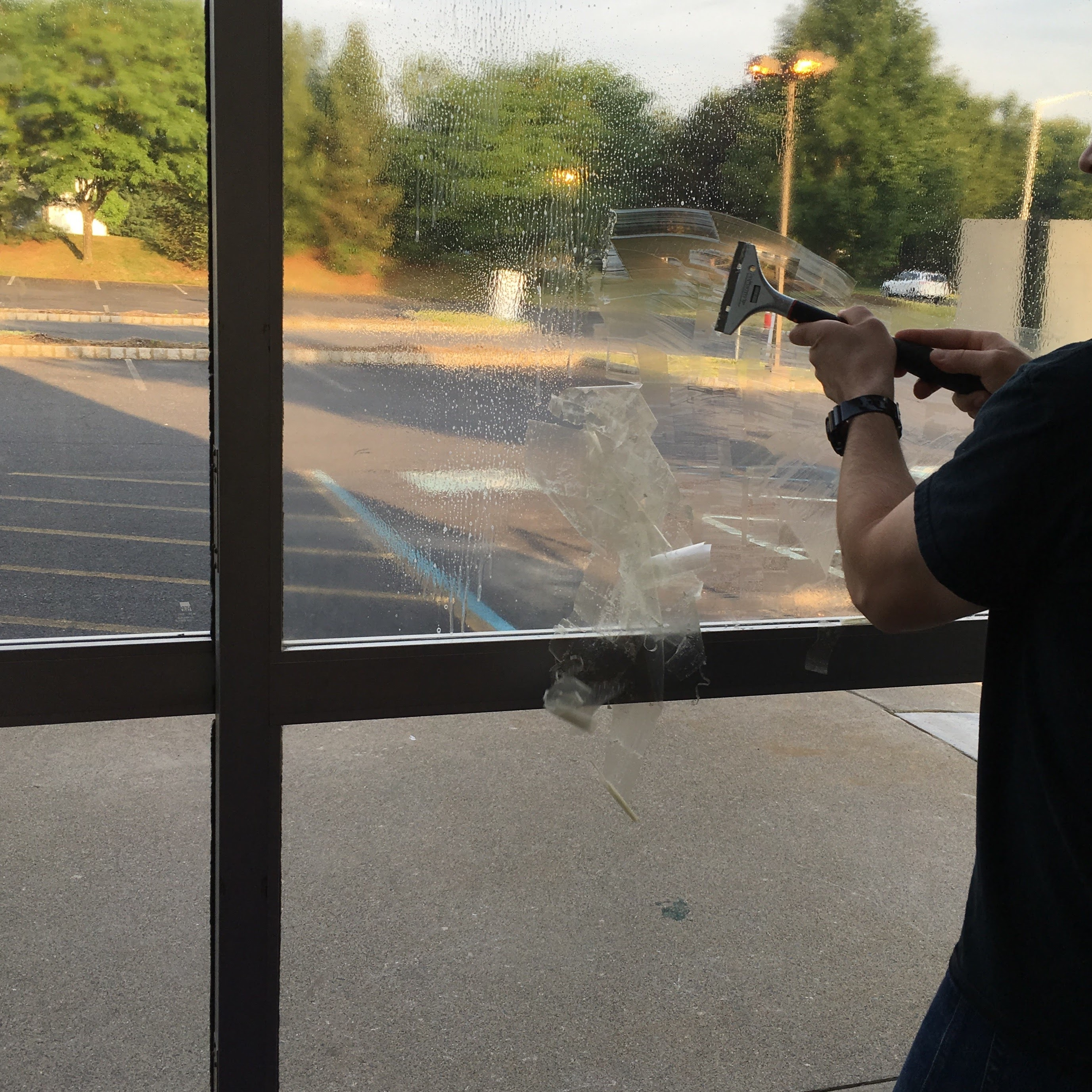 window tinting removal for commercial buildings, allentown pa