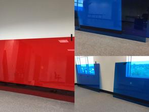Colored window film, Decorative film for office windows | Allentown, Easton, Bethlehem,PA