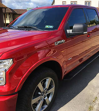 truck window tinting, Lehigh valley PA