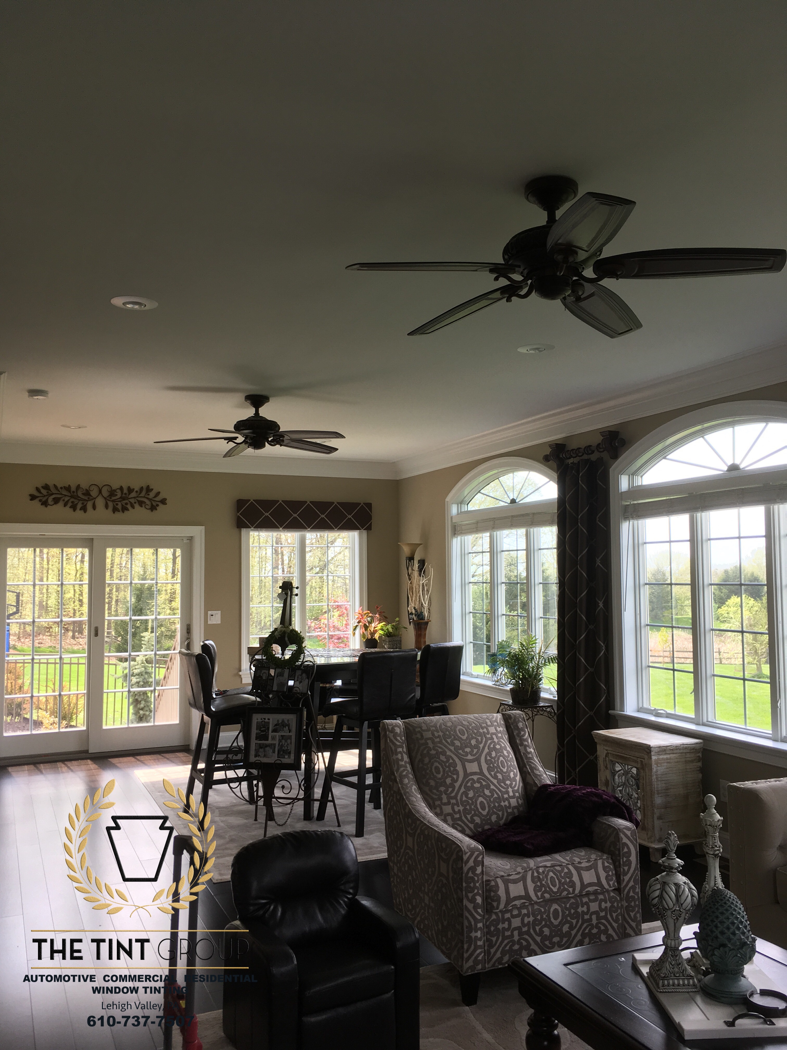 window tinting for sunrooms in perkasie pa