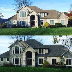Home window tint to reduce glare