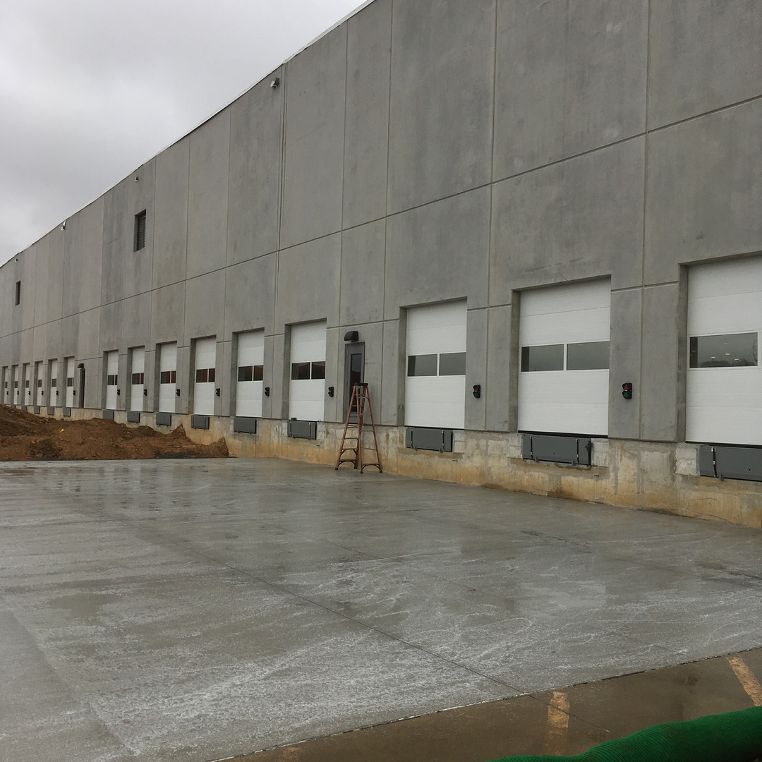 window tinting for shipping bay doors