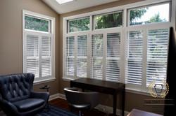 Glare reducing film for home windows