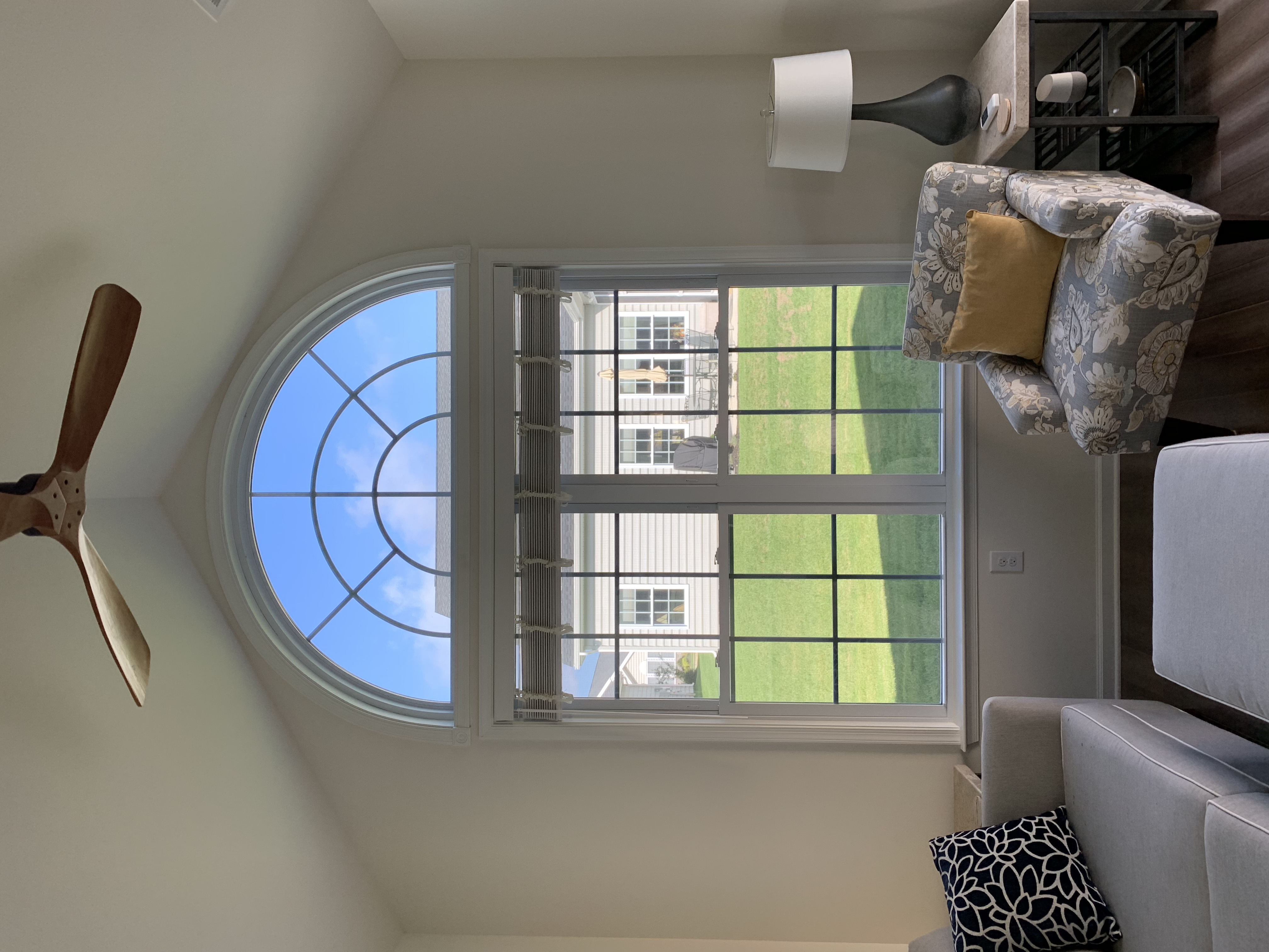Window tint to protect home furnishings