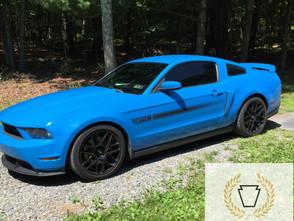 Ford Mustang Gets Llumar CTX Ceramic Window Tint | Kutztown, PA