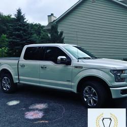 Mobile truck window tinting