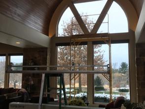Glare Reducing film for home windows. Bethlehem, PA