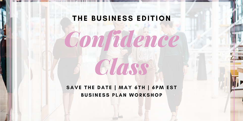 Confidence Class: The Business Edition