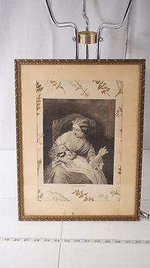Asleep - Hush Framed Print Ca1930s