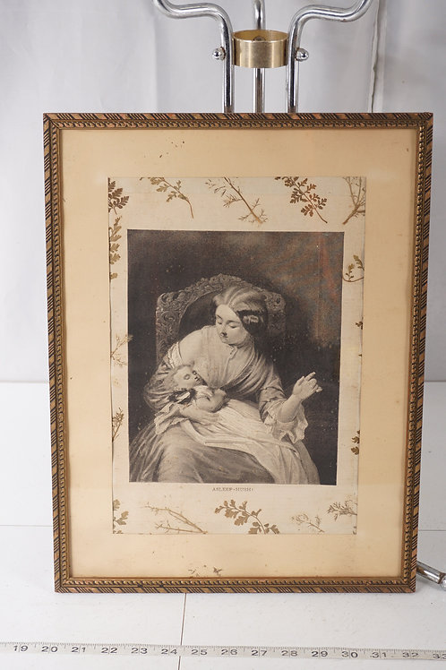 Asleep - Hush Framed Print Ca1930s