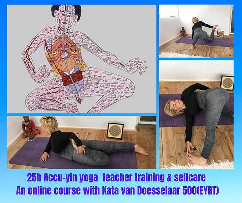 25h Online Acu Yin Yoga Training