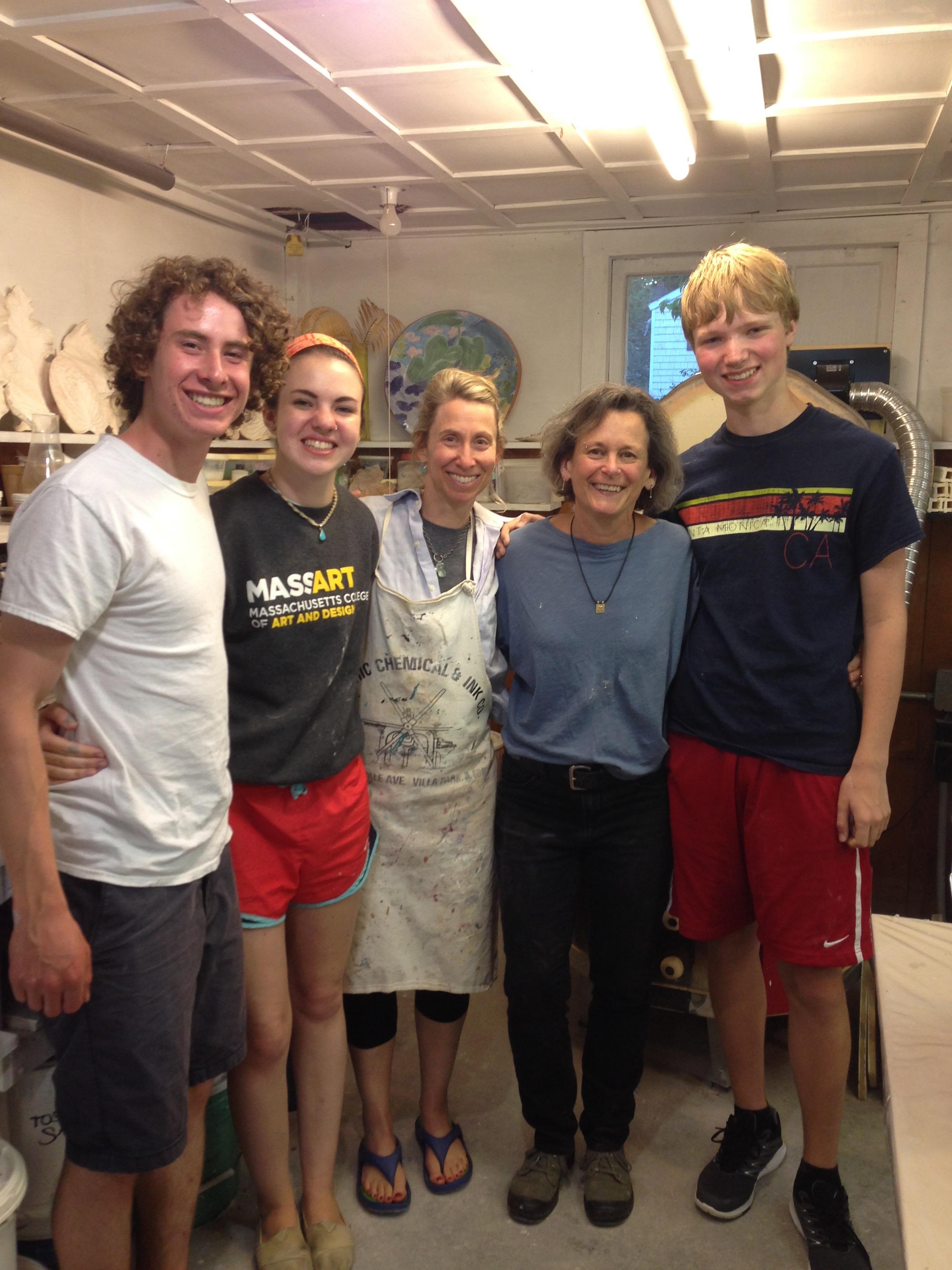 Sam, Callie, Susan, Myself and Ben
