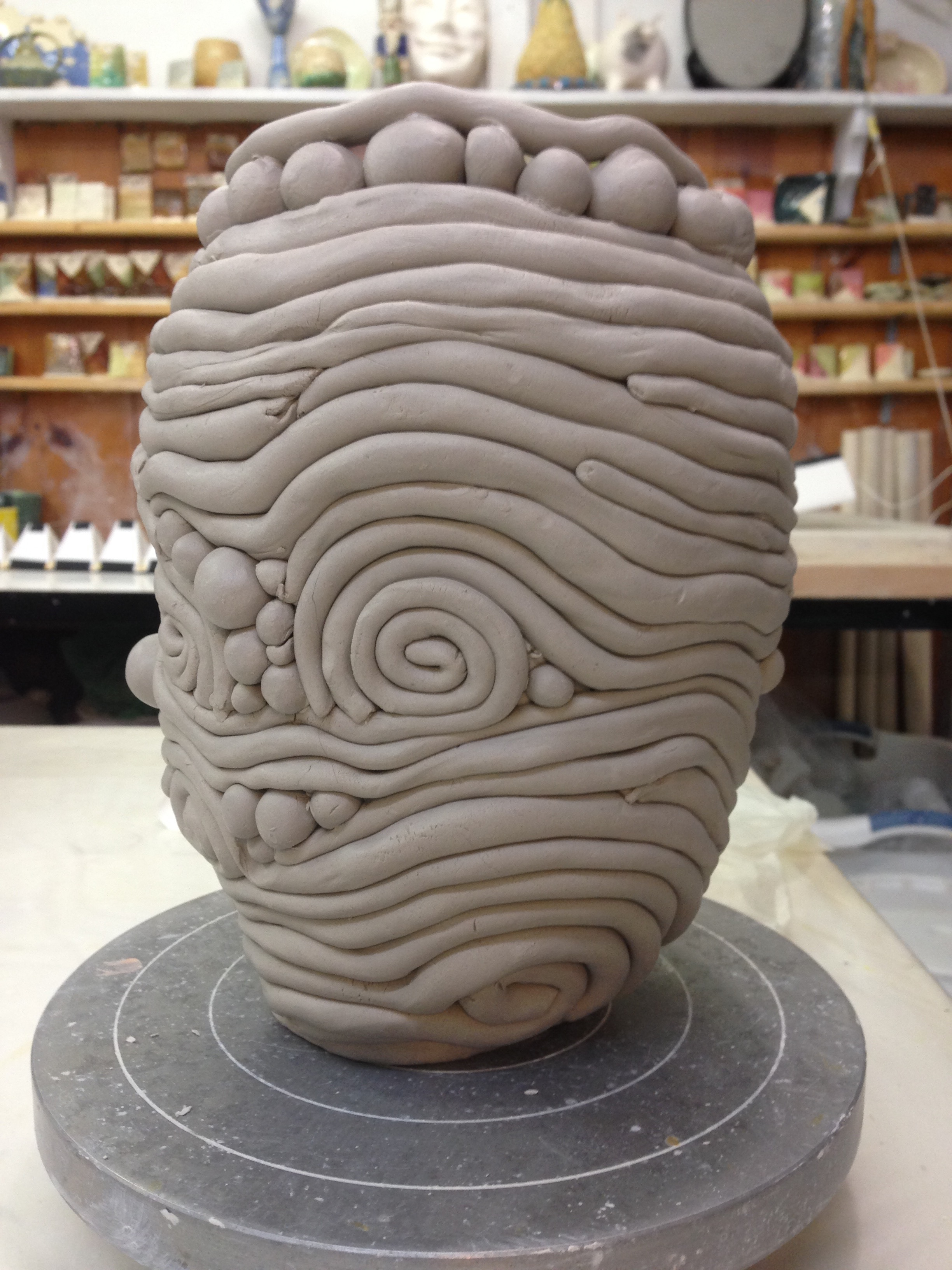 Coil pots are a favorite of mine