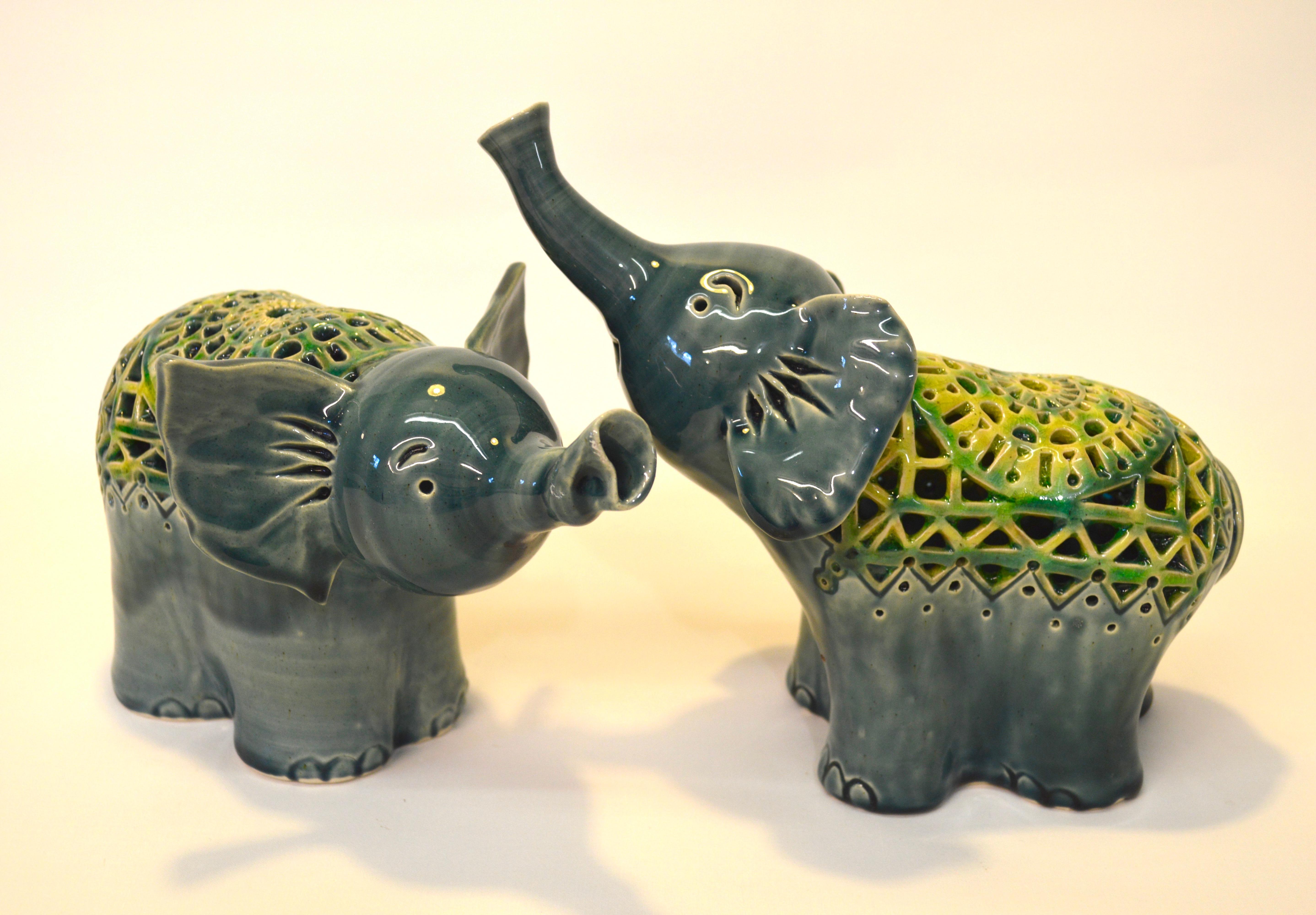 Elephant lanterns