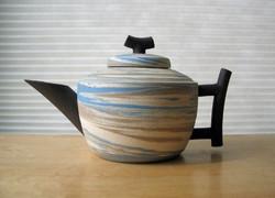 Agateware Teapot