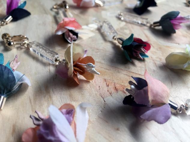 植物園 earring/pierce