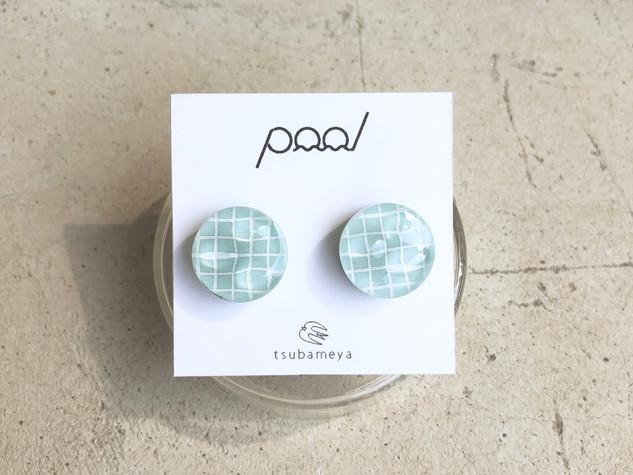pool earring/pierce