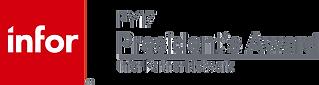 Infor President's Award Logo