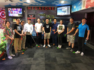 Mini golf and laser tag
