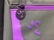 Silicone rubber zipper pull