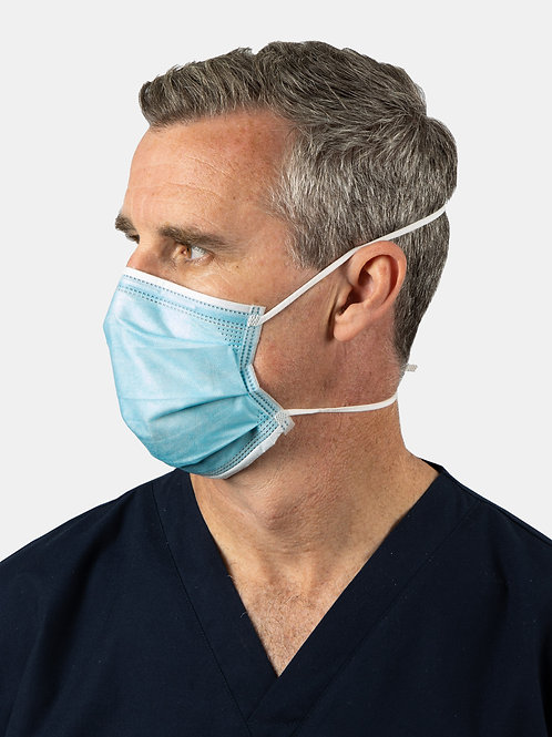 Level 3 Surgical Mask with Adjustable Slingback Straps