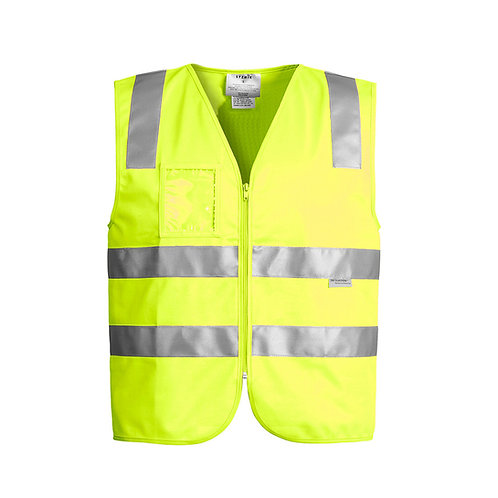Unisex Hi-Vis Full Zip Vest