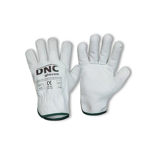 Unisex Premium Cow Grain Rigger Glove
