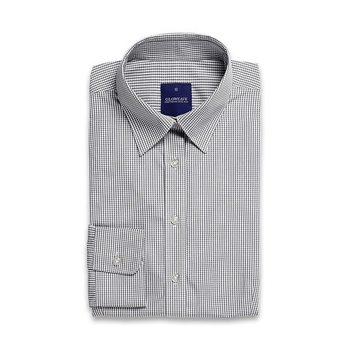 Ladies Long Sleeve Gingham Check Shirt