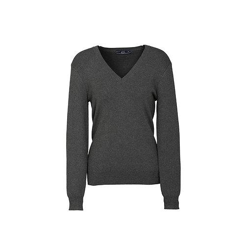 Ladies All Seasons V Neck Pullover