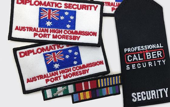 Epaulettes-Custom-Embroidered-Security-P