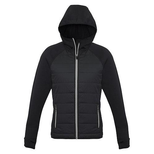 Ladies Stealth Hybrid Hooded Jacket