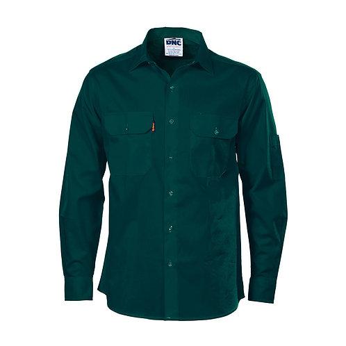 Mens Cool Breeze L/S Work Shirt