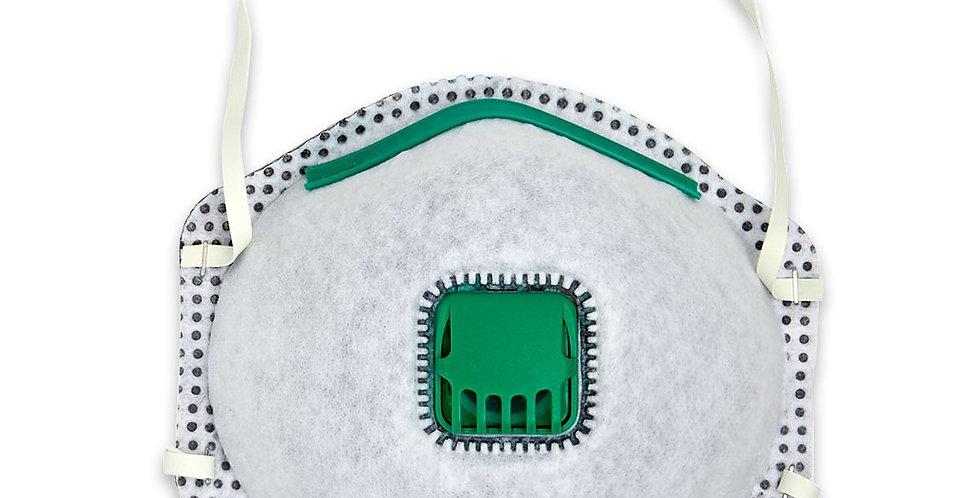 P2 Carbon Cone Respirator with Valve (12pc)